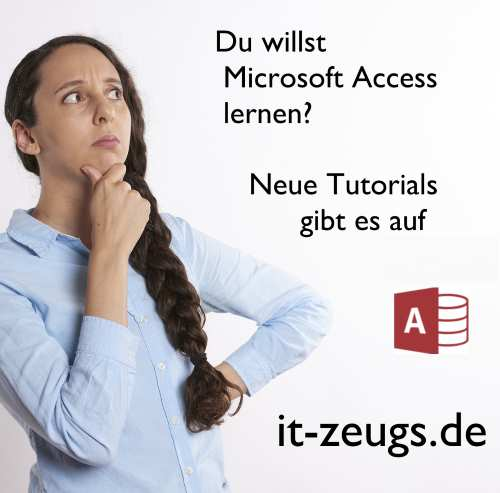 Microsoft Access lernen