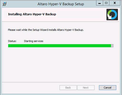 Test Altaro Hyper-V Backup 5