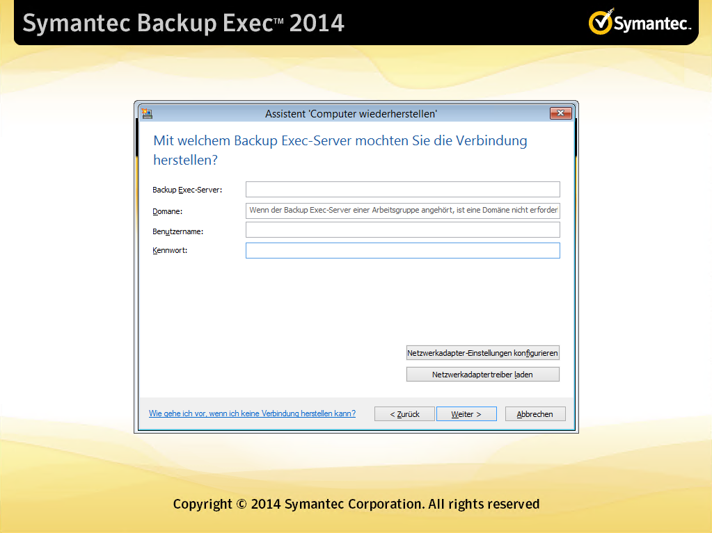 Simple Disaster Recovery in Backup Exec