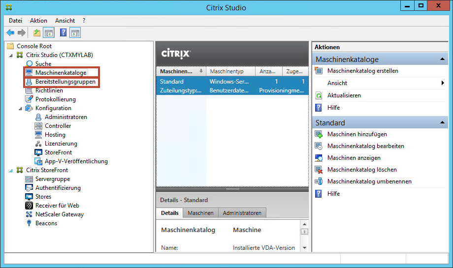Citrix Studio
