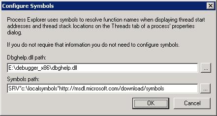 Paged und Nonpaged Pool Memory Litmits im Process Explorer anzeigen