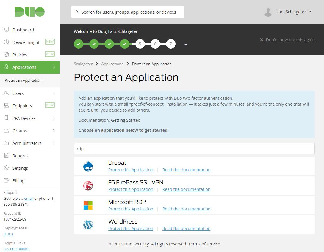 RDP-Schutz von Duo Security herunterladen