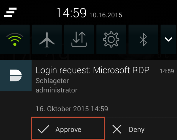 RDP Login mit Duo Security
