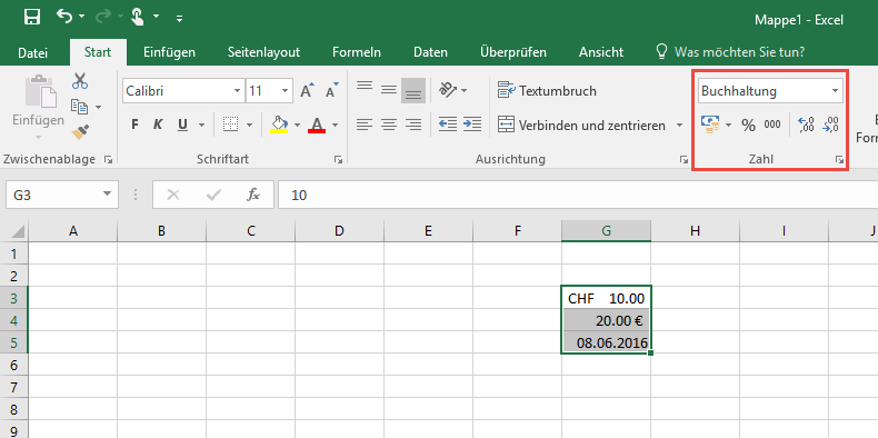 Tutorial: Office Excel 2016 für Einsteiger