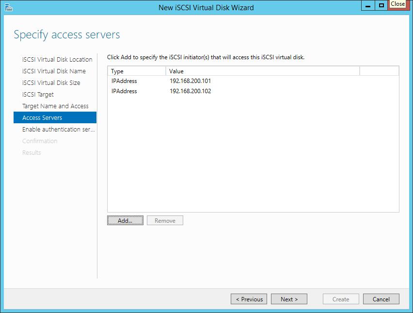 iSCSI-Umgebung für Hyper-V aufsetzen