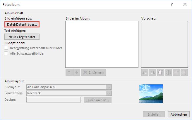 Powerpoint Quick-Tipp: Fotoalbum erstellen