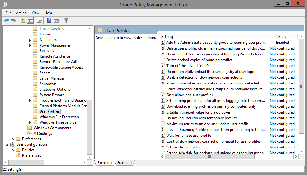 Datei-Berechtigungen für Shared Folders