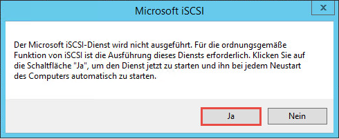 iSCSI Target unter Windows Server 2016 einrichten