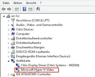 Keine Verbindung zu XenDesktop Virtual Desktop