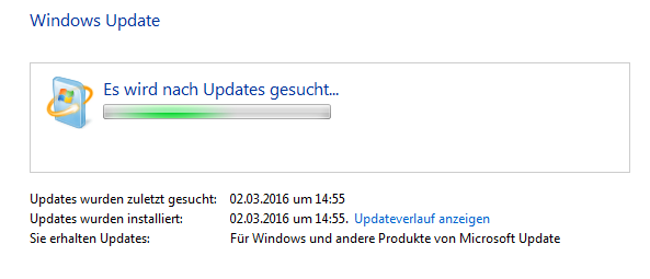 Windows Update Trouble