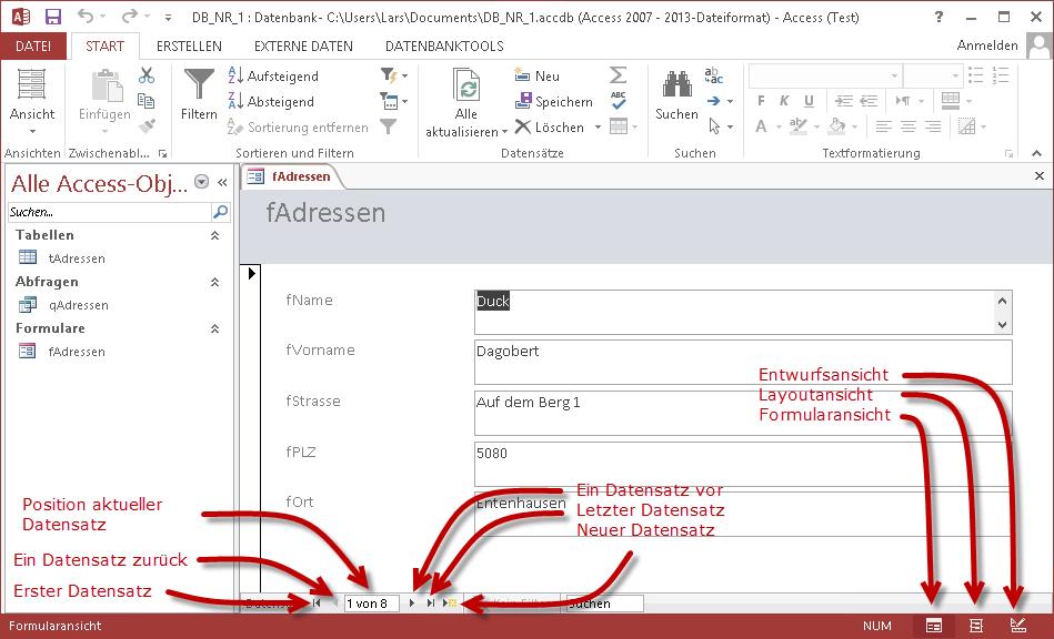 Tutorial] Access 2013 Datenbank für Einsteiger - it-zeugs.de