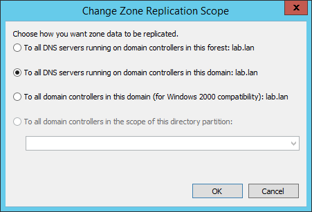 Active Directory integrierte DNS-Zone in ADSI Edit