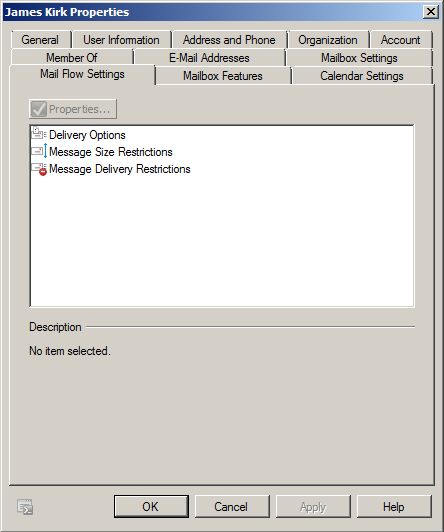 Exchange 2010 - Mail Flow Settings
