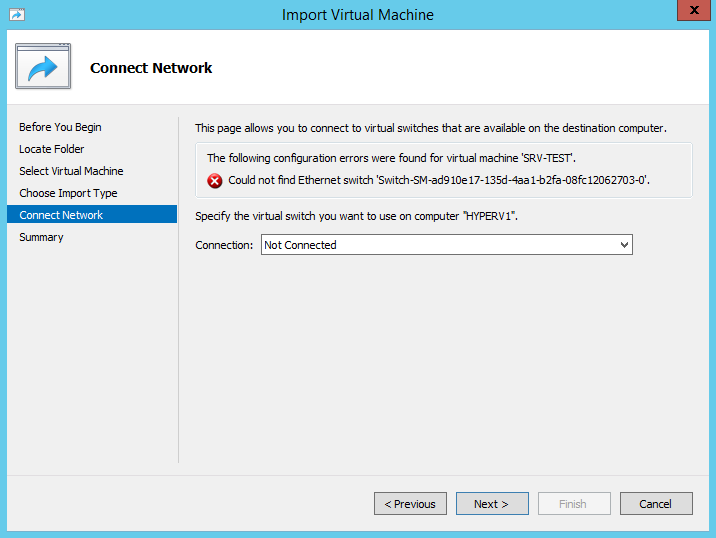 Eine Hyper-V VM von Windows Server 2008R2 auf Windows Server 2012 R2 migrieren