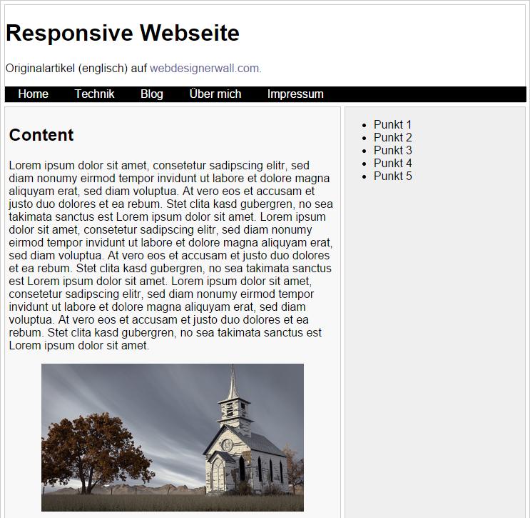 Responsive Webdesign - Die 1001ste Einführung
