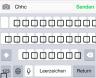 iPhone - korrupte Tastatur