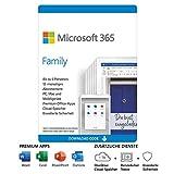 Microsoft 365 Family | 6 Nutzer | Mehrere PCs/Macs, Tablets und mobile Geräte |...