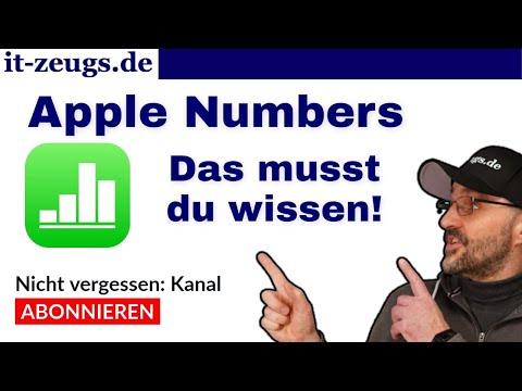 Mac Numbers Tabellenkalkulation [Das Apple Excel?]