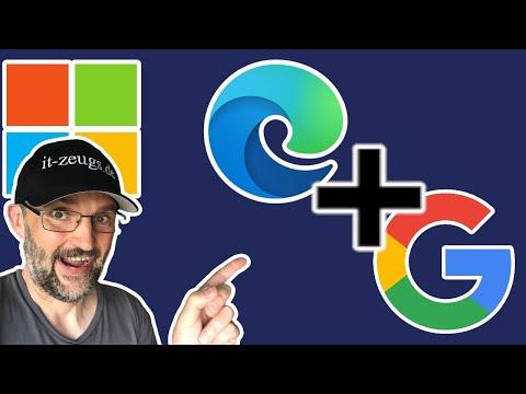 Microsoft Edge Google als Startseite festlegen [2021!]