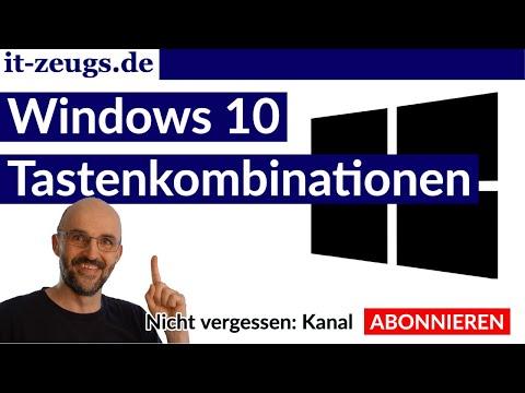 Tastaturkürzel Windows 10 | So lernen | Teil 1 - Appsteuerung