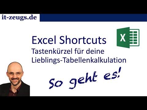 Excel-Shortcuts | Tastenkürzel für deine Lieblings-Tabellenkalkulation