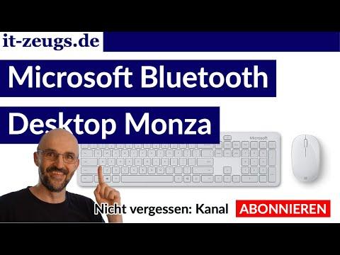 Microsoft Bluetooth Desktop Monza [Erster Eindruck]