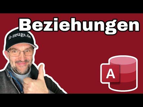 Microsoft Access: Beziehungen in Datenbanken verstehen
