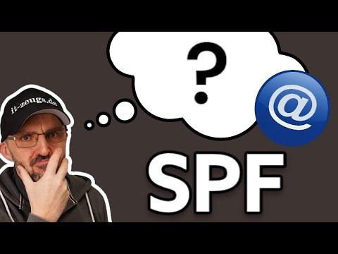 Wie findet ein E-Mail sein Ziel und was ist SPF?