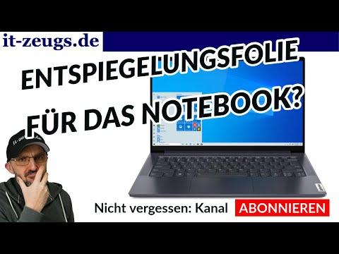 Was taugt Entspiegelungsfolie für Notebooks? Test BROTECT