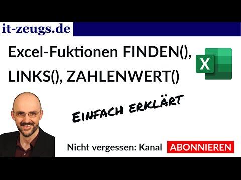 Excel FINDEN() Funktion [Einfach erklärt]