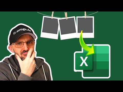 Bild in Excel einfügen [So geht es richtig!]