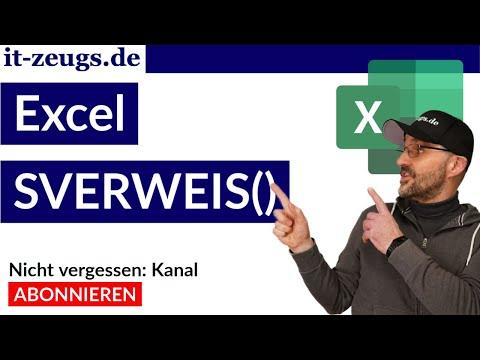 SVERWEIS Excel einfach erklärt [HD]