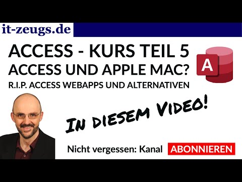 Access Kurs Teil 5 - Webapps | R.I.P. | Alternativen