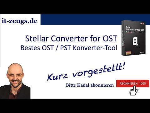 Stellar Converter for OST | Bestes OST / PST Konverter-Tool