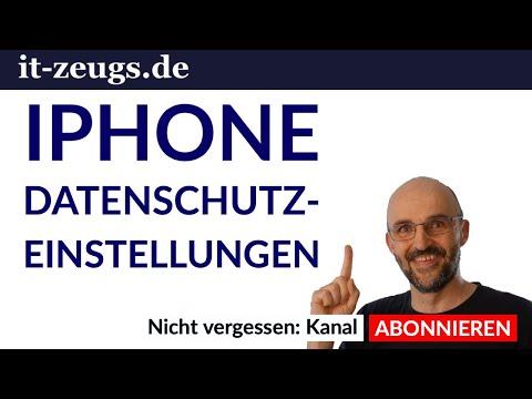 iPhone Datenschutz Einstellungen die du sofort ändern solltest!