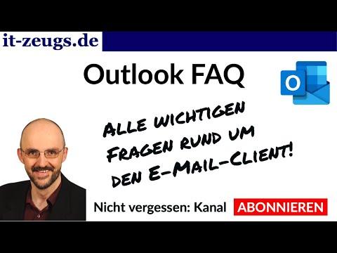 Outlook FAQ