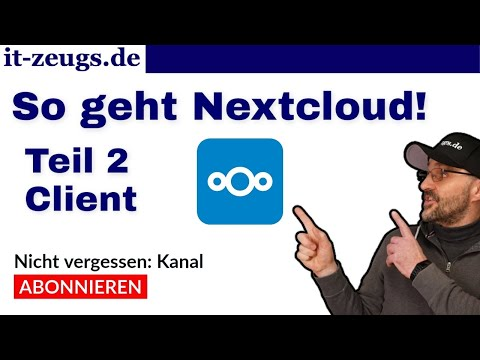 Nextcloud Client installieren | Windows | Mac