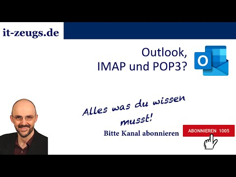 IMAP / POP3 Unterschied und POP3-Optionen in Outlook konfigurieren