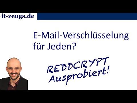 E-Mail-Verschlüsselung mit REDDCRYPT getestet