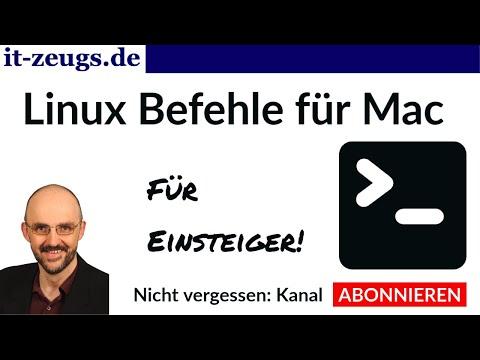 Linux Befehle für Mac [Tutorial für Einsteiger]