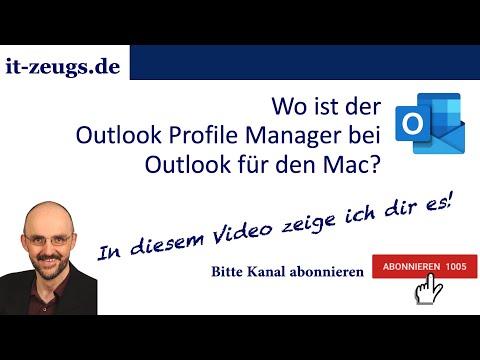 So einfach nutzt du verschiedene Outlook-Profile unter Mac