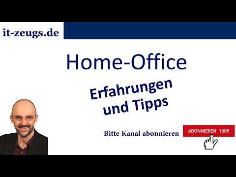 Homeoffice | Erfahrungen und Tipps