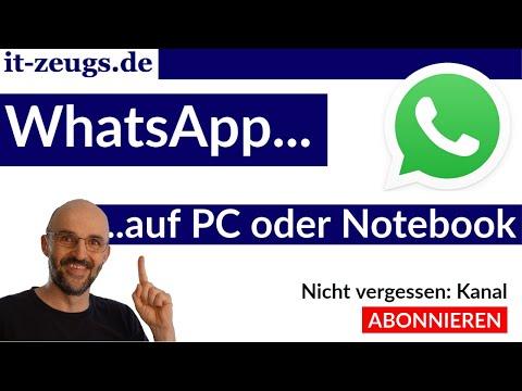 WhatsApp auf PC [oder Laptop]