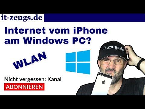 iPhone: So teilst du die Internetverbindung mit deinem PC via WLAN