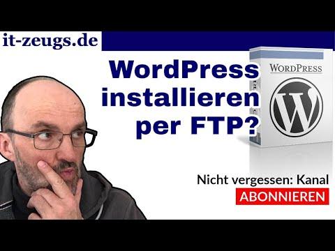 So funktioniert die Installation von WordPress