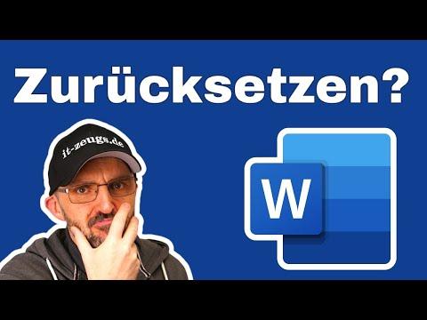 Microsoft Word zurücksetzen [So funktioniert es!]