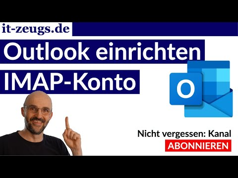 Outlook einrichten Windows | IMAP-Konto