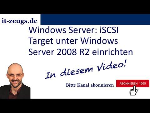 Windows Server: iSCSI Target unter Windows Server 2008 R2 einrichten