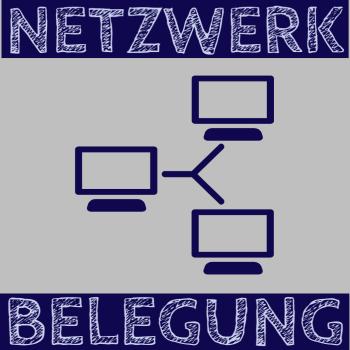 Netzwerk-Belegung