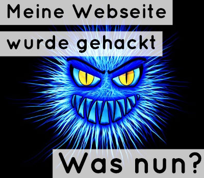 website-gehackt